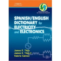 Spanish English Electricity Manufacturing Dictionary