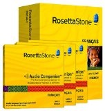 Rosetta Stone Version 3: French Level 1, 2 & 3 Set with Audio Companion