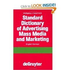 Spanish English Advertising Dictionary