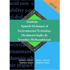 Environmental English Spanish Translation Dictionary