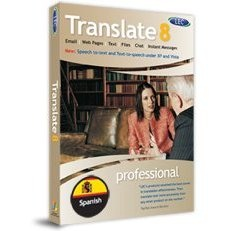 Translate 8 Spanish Pro Translation Software